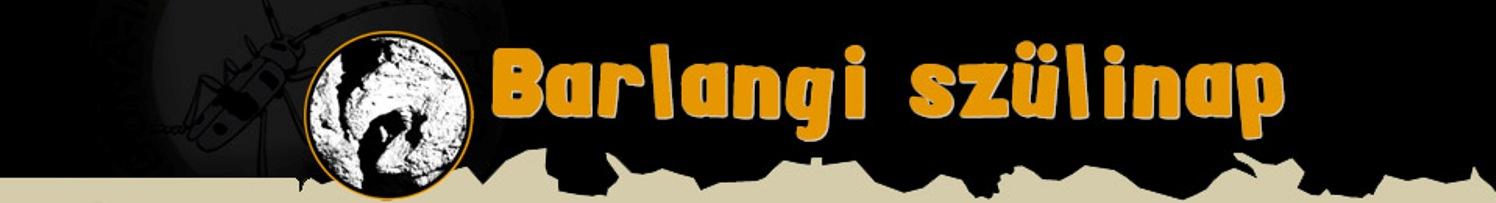 Barlangi szülinap Logo